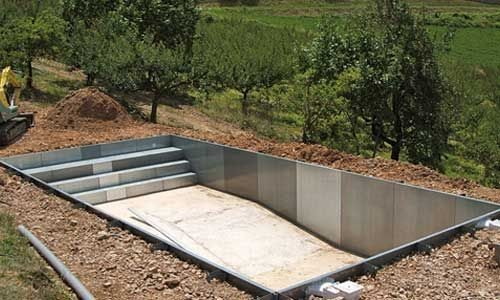 Piscina prefabricada kit f cil instalada piscinas athena - Piscinas prefabricadas de hormigon ...