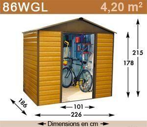 Caseta de jardín YARDMASTER 4.79m2
