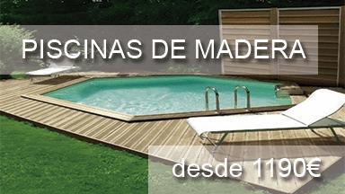 Madera maciza piscinas athena for Piscinas de poliester economicas