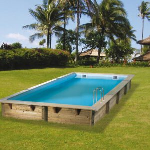 imagen piscina de madera 650cm x 350cm x 140cm