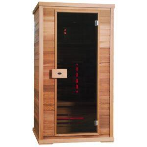 imagen sauna de infrarrojos Nobel flex s110