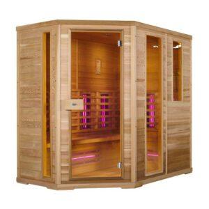imagen Sauna de infrarrojos nobel flex s210