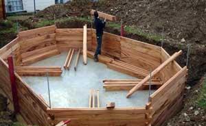 piscinas de madera maciza mantenimiento y cuidado. Black Bedroom Furniture Sets. Home Design Ideas