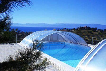 Cubiertas y para piscinas prefabricadas piscinas athena for Piscinas athena