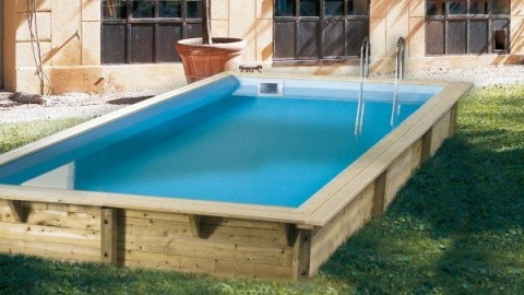 Mini piscina de madera nika 2 x 2 al mejor precio for Piscinas de madera baratas