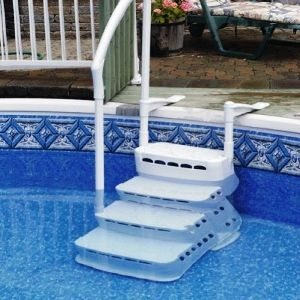 Escalera sin obra helsinki para piscinas piscinas athena for Piscinas sin obra