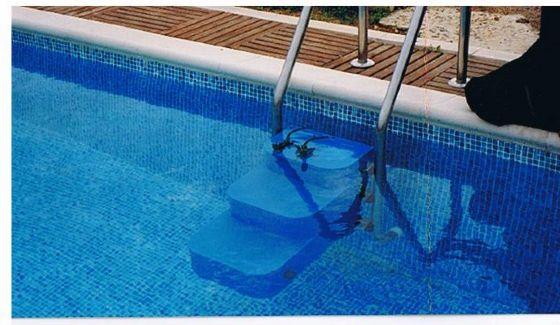 Escalera salva mascotas piscinas athena - Escaleras para perros ...