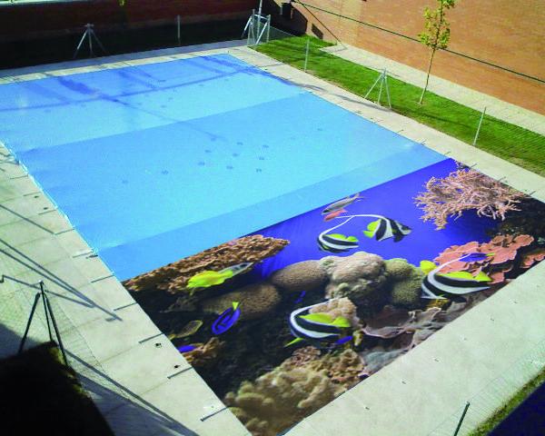 Cobertor de invierno para piscinas laineblock eurostar for Piscinas de invierno