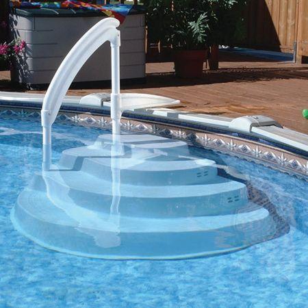 Escalera sin obra athens piscinas prefabricadas tienda for Piscinas sin obra