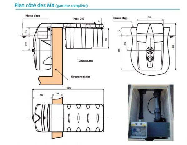Depuradora compact sin obra 25m3/H