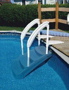 Escaleras sin obra amovibles para piscina piscinas athena - Escaleras de piscinas baratas ...