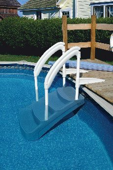 Escalera amovible tokio para piscinas piscinas athena for Escalera piscina