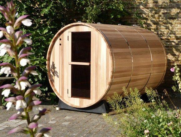 imagen Sauna de barril exterior de 6 personas