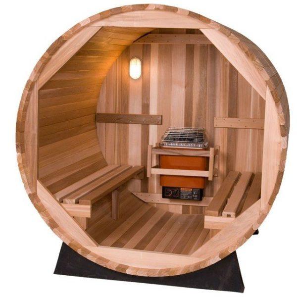 Sauna De Barril Exterior De 2 Personas Piscinas Athena
