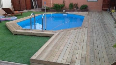 Venta de piscinas de madera