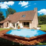imagen piscina de madera 430cm x 120cm
