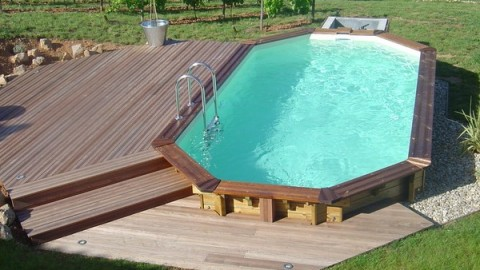 Escaleras sin obra para piscinas privadas piscinas athena - Piscinas obra precios ...
