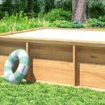imagen mini-piscina de madera