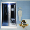 imagen cabina de hidromasaje vapor 9001