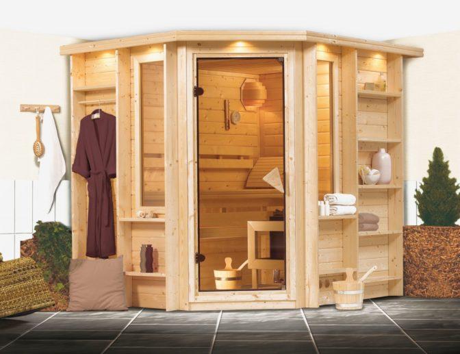 imagen sauna finlandesa Cortona karibu