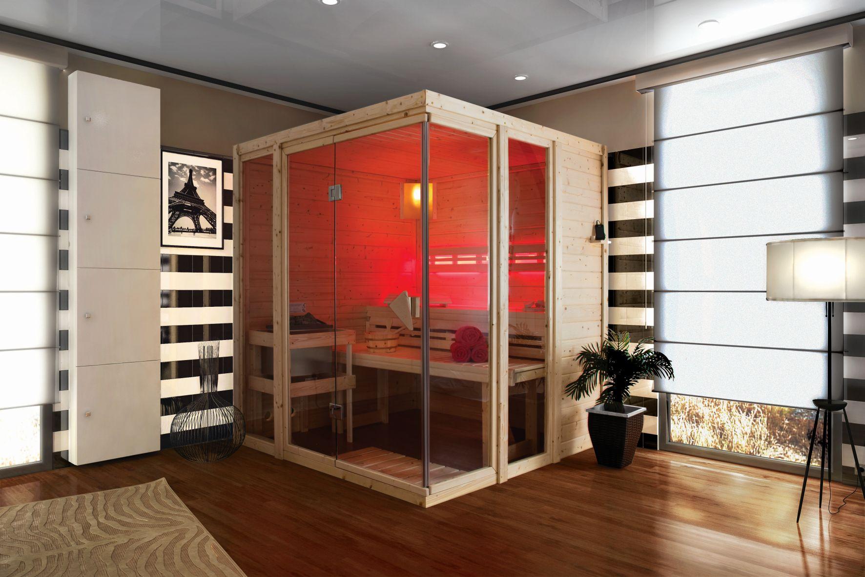 sauna finlandesa paavo karibu de dise o piscinas athena. Black Bedroom Furniture Sets. Home Design Ideas