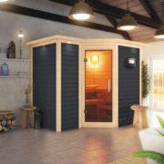 imagen sauna finlandesa Sahib 2 karibu