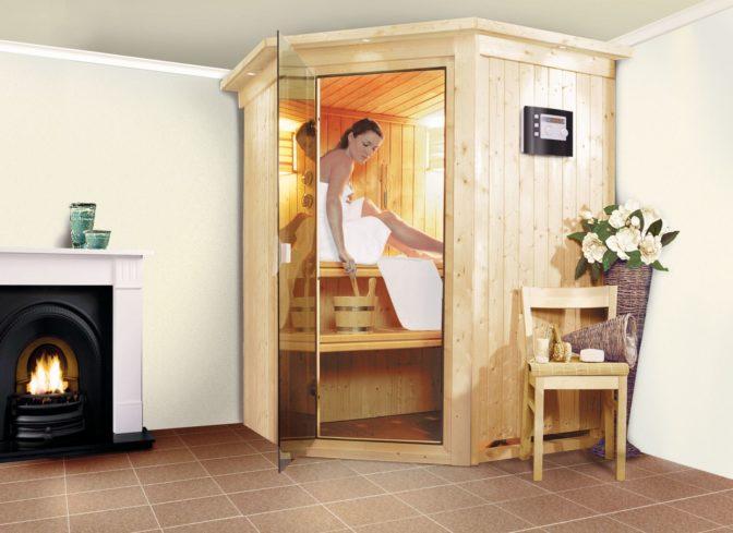 imagen sauna finlandesa larín