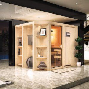 imagen Sauna Finlandesa Cara Karibu