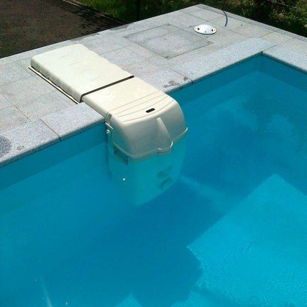 Depuradora sin obra mx18 con clorador salino piscinas athena for Depuradora para piscina hinchable