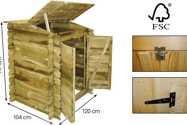 Caseta de madera depuradora piscina de madera piscinas athena - Casetas de madera para terraza ...