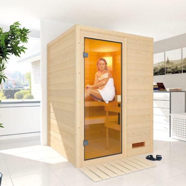 sauna finlandesa nadja wellnes al mejor precio