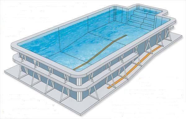 Piscina prefabricada con las mejores calidades piscinas for Piscina prefabricada