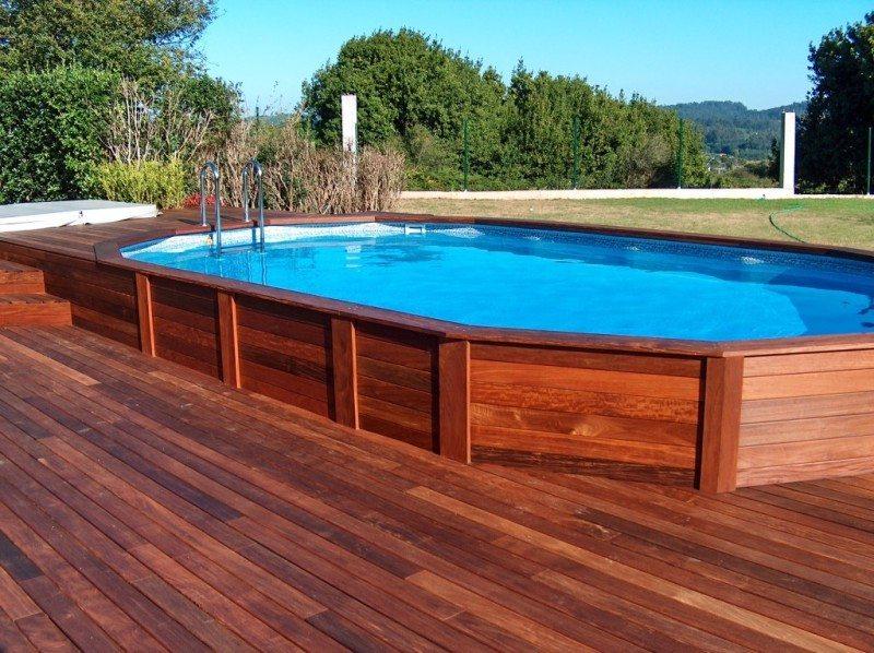piscinas que enamoran ventajas de la madera piscinas athena