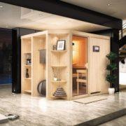 imagen sauna finlandesa Juna karibu