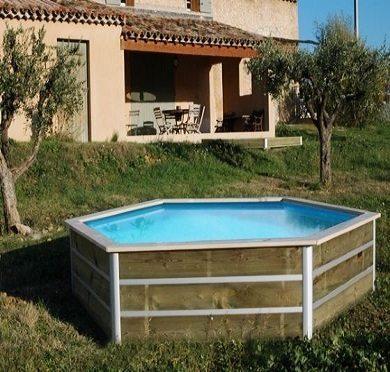 Mini piscina de madera nikita 3 30x0 58m piscinas athena for Minibar de madera