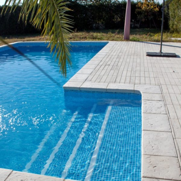 Escalera recta 3 x 1 10m para piscinas piscinas athena for Piscinas athena