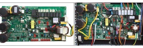 imagen placas electronicas bomba de calor piscina nova inverter 7Kw