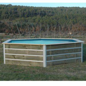 imagen mini piscina de madera Nikita