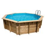 piscina de madera Sun 430 cm x 120 cm vista