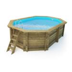 imagen piscina de madera Nika 560cm x 370cm x 124cm