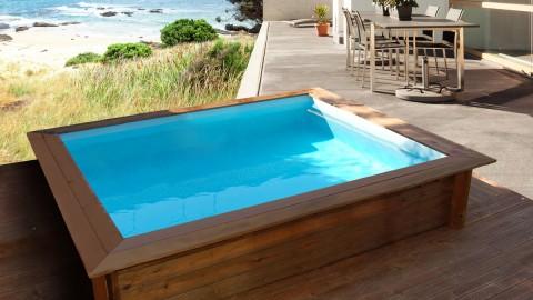 Mini piscinas de madera