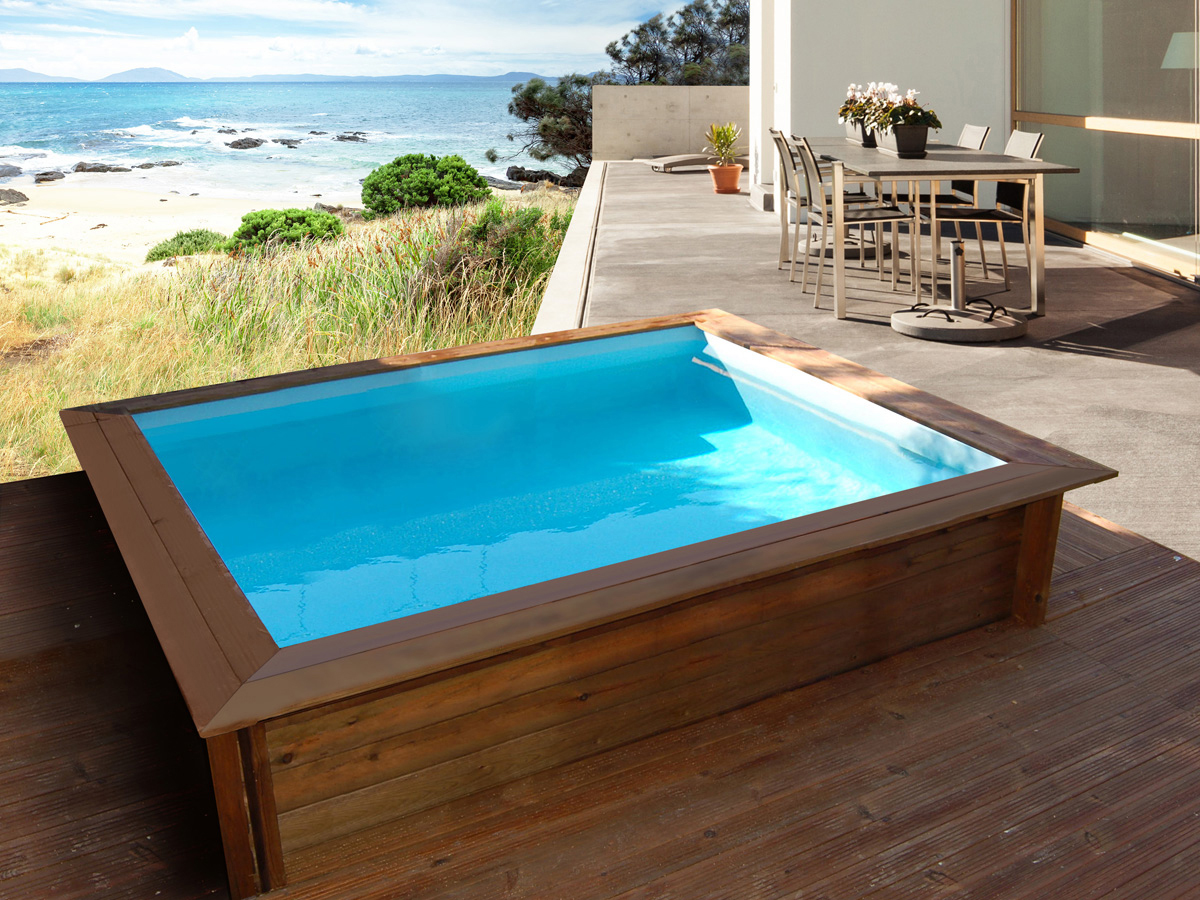 mini piscina de madera nika 2 x 2 al mejor precio piscinas athena. Black Bedroom Furniture Sets. Home Design Ideas
