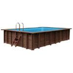 imagen piscina de madera 834cm x 492cm x 138cm