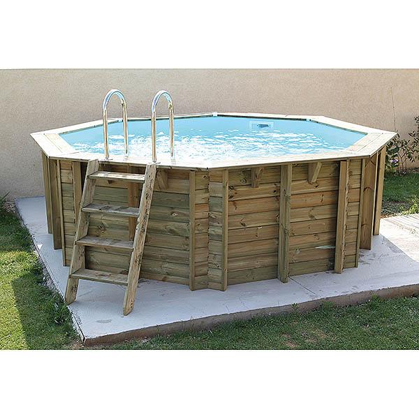 imagen piscina de madera Azura 4,10m (az)