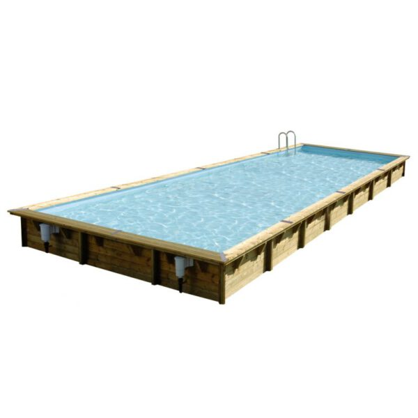 imagen piscina de madera 1100cm x 500cm x 140cm