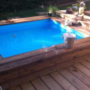 Piscinas de madera piscinas prefabricadas 96 157 03 26 for Mini piscinas prefabricadas