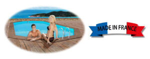 piscina de madera vista