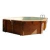 imagen piscina de madera 610cm x 400cm x 130cm