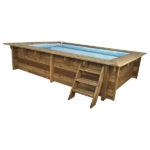 imagen mini piscina de madera Nika 3 x 2m