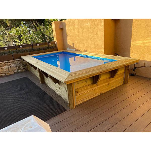 imagen piscina de madera Rect 3,50 (Principal)